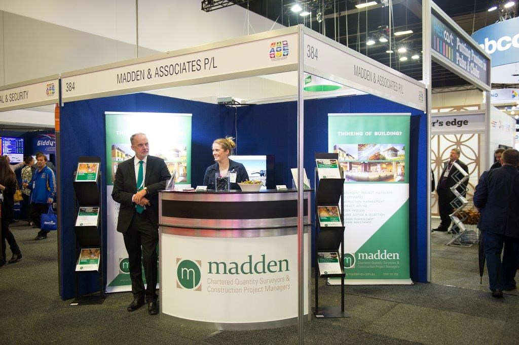 Madden attends the 2017 Australasian Gaming Expo! IMAGE